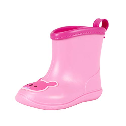 Vine Toddler Rain Boots Babys Rain Boots Children Waterproof Shoes for Boys Girls 4.5 US Toddler]()