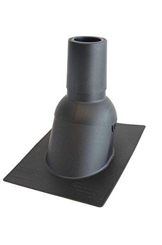 Perma Boot 312-3 BRN Repair Plumbing Vent Boot Repair System Brown 3-Inch Fits 3-Inch PVC Pipes