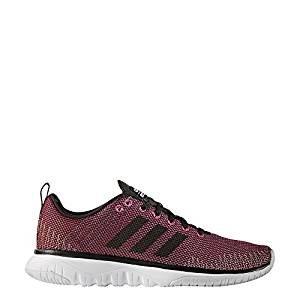 Adidas cloudfoam Super Flex w–Chaussures de sport pour femme, Rose–(rosimp/negbas/Ftwbla) 44