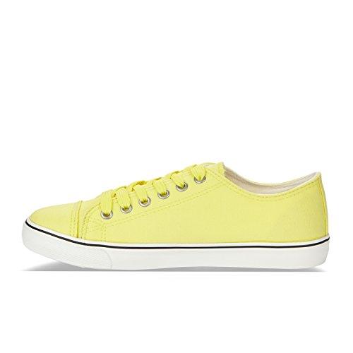 Diadora 35007 W Chaussures grenadine CLIPPER de JAUNE C Sport pour femme SgrfFS