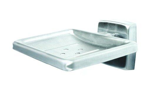 Bradley Corporation 9014-000000 Bradley 9014-000000 Soap Dish, Satin Stainless, Surface