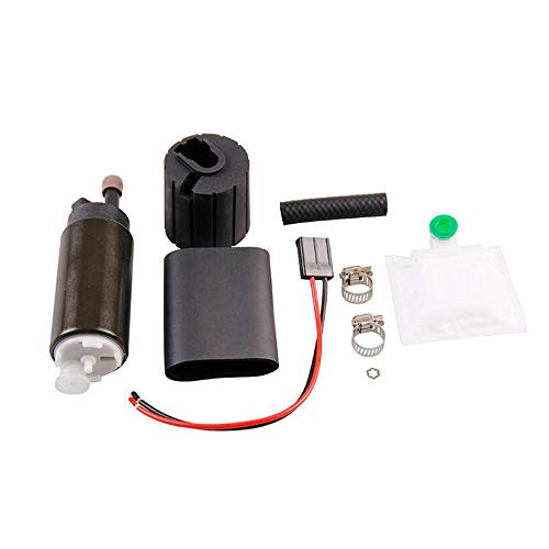 255LPH High Performance EFI Fuel Pump Kit Replaces GSS341 Car accessory -