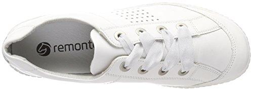 silver R1406 Femme Sneakers Blanc reinweiss Remonte Basses PY6Yq