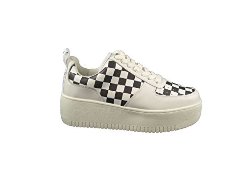 38 Naked Bianca Speed Pelle Wolfe Sneaker Check Nr Zeppa qnAw8RZq