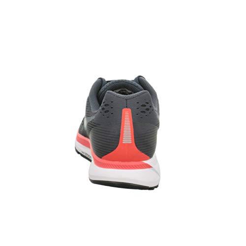 Nike Men's Air Zoom Pegasus 34, Blue Fox/Black-Bright Crimson, 6 M US by Nike (Image #2)