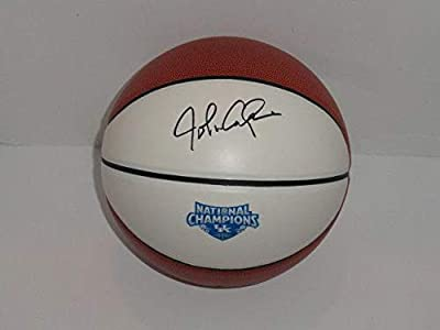 John Calipari Signed Basketball Kentucky Wildcats 2012 National Champions Proof - Autographed College Basketballs