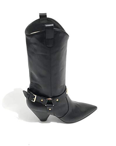 Stiefeletten Damen Moschino amp; Stiefel Schwarz Schwarz qTCwx04C