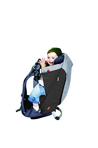phil&teds Escape Baby Carrier, Charcoal/Charcoal 3