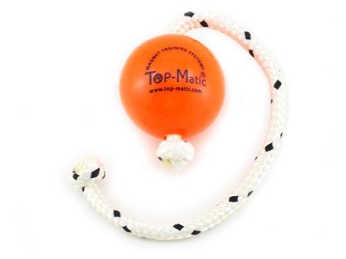 Image of Top-Matic Regular Orange Fun-Ball with Rope