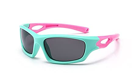 539a9baf504 Image Unavailable. Image not available for. Colour  HUBINGRONG Polarized  Boys Girls Anti UVA Sun Glasses TR90 Infant Kids ...