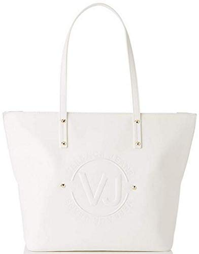 A bianco Jeans 13x30x31 Cm Ottico Bianco Spalla Versace L H X w Donna Bag Borsa wp1Sq1HOt