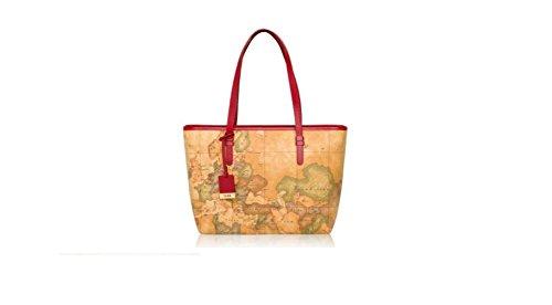 Vari Alviero donna colori per Rosso Multicolor MartiniTracolla Y7ybgf6