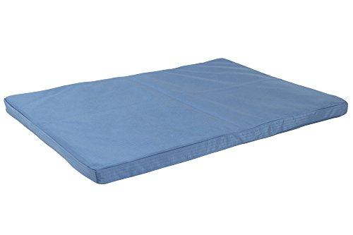 K9 Ballistics Orthopedic TUFF Crate Pad Blue - Medium (43''x28''x2'') by K9 Ballistics