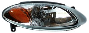TYC 20-6933-00 Ford Escort ZX2 Passenger Side Headlight Assembly