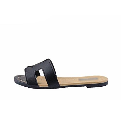 Flat Beach On Slides Flops Sandal Slip Brand Flip Slippers Gold Baolustre 7wZA6atxq4
