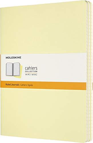Journals Cahier Plain 3 - Moleskine Cahier Journal, Soft Cover, XL (7.5