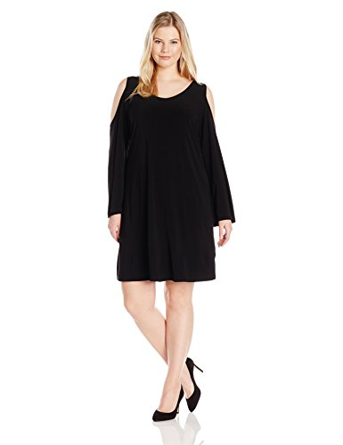 Tiana-B-Womens-Plus-Size-Solid-Jersey-Cold-Shoulder-Dress-with-34-Sleeves