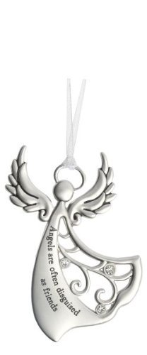 Ganz Angels By Your Side Ornament - Angels are often disguised as friends