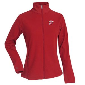(NCAA Women's Utah Runnin Utes Sleet Polar Fleece (Dark Red, X-Large))