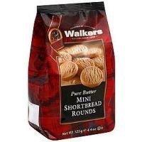 Walkers Mini Shortbread Rounds - 4.4 oz - 6 pk