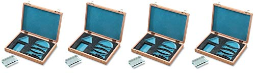 United Scientific 573159 Acrylic Prisms in Wooden Storage Box (Set of 6) (Fоur Расk) by United Scientific (Image #1)