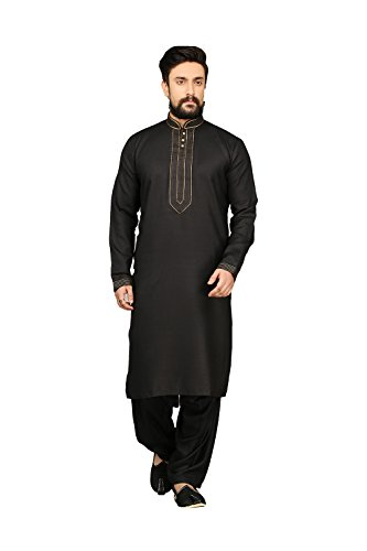 Aashima Fab Store Indian Party Wear Designer Traditional Kurta Pajama For Men by Aashima Fab Store