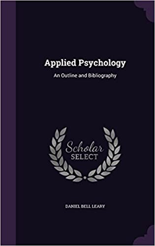 Google-kirjat downloader android Applied Psychology: An Outline and Bibliography PDF iBook 1341497402