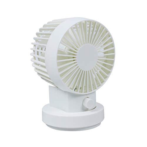 JYLJL Electric Fan, Portable Mini Air Cooler, USB Charging, Two-Speed Wind Speed, Angle Adjustable, Suitable for Office Bedroom Living Room