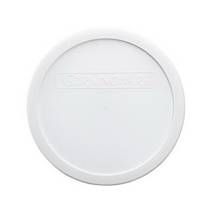 Corningware F-5-PC French White 1.5qt Round Plastic Cover