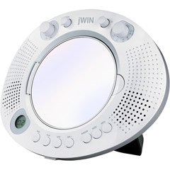 jWin JXM88 Splash Proof Mirror Shower CD ()