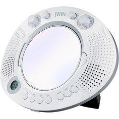 jWin JXM88 Splash Proof Mirror Shower CD Player