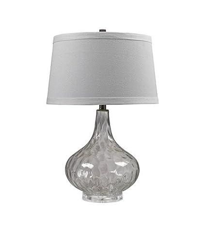 Amazon.com: Lámparas de Mesa 1 Luz con acabado transparente ...