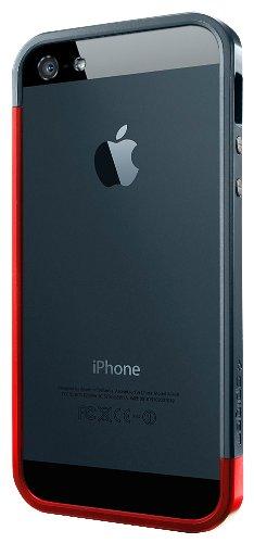 spigen Linear EX Metal carcasa para iPhone 5/5S rojo