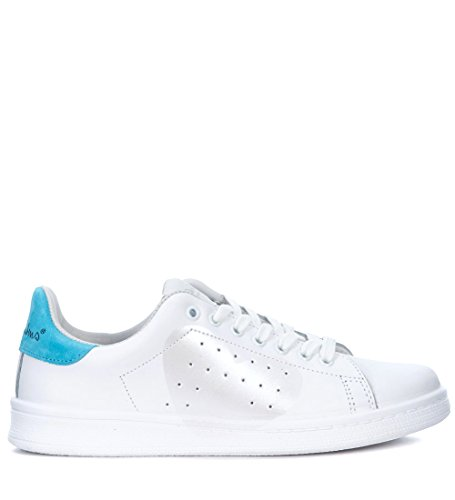 Sneaker Rubens Nira En Madreperla Corazón Piel Blanco Daiquiri Blanca Y n6nadrxwB