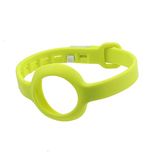 IMMI® Hot New Replacement Wrist Band for Jawbone UP MOVE No Tracker-Large(Yellow)