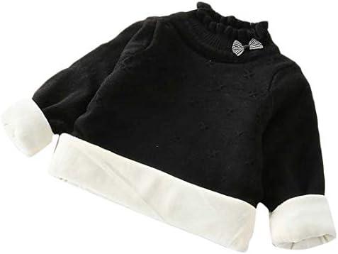 Wofupowga Girls Cute Boys Thicken Coat Knitted Jumper Plaid Cardigans