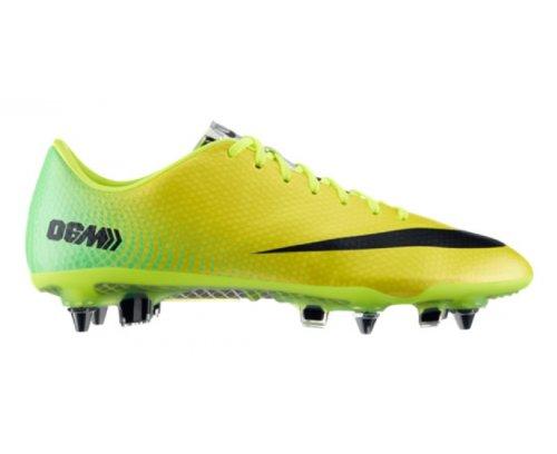Nike Mercurial Vapor IX SG-PRO Black 555607 010 Gelb