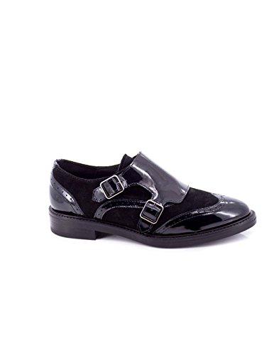 Zapato Alpe De Piel Negro 30887905 Negro