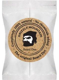 Grizzly Mountain Beard Dye - Organic & Natural Dark Brown Beard Dye