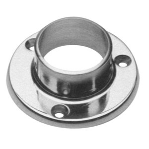 Wall Flange Satin Stainless Steel - 1
