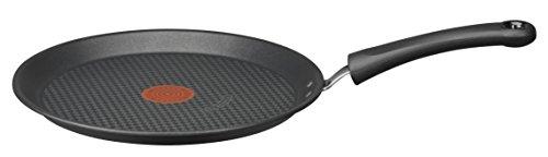 Tefal E4663802 Hard Titanium Crêpes-Pfanne, Aluminium, Durchmesser 25 cm, Schwarz