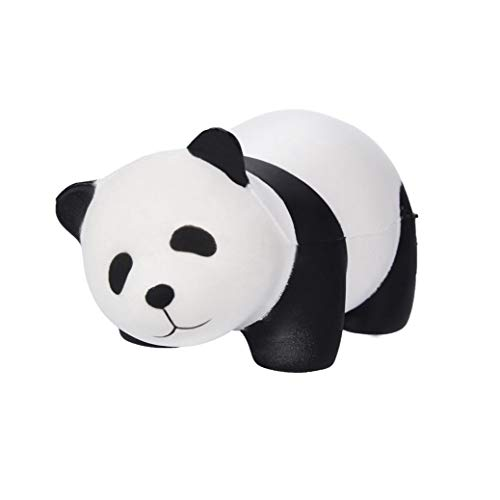Drfoytg Stress Reliever Toy Cute Panda Squishy Toys Bear Decompression Toy Slow Rising Animal Squeeze Cream Scented (White) -