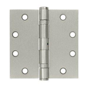 Deltana S45BBNU15 HD Ball Bearings Nrp Steel 4 1/2-Inch x 4 1/2-Inch Square Hinge - Bearing Square Deltana Hinge