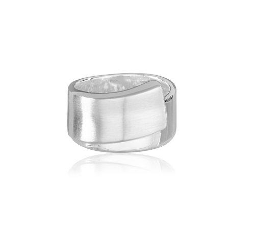 VINANI Damen Ring New Infinity Silber 925 RNI Gr: 52/16