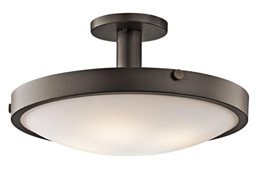 Kichler 42246OZ Four Light Semi Flush Mount - Monte Carlo Semi Flush