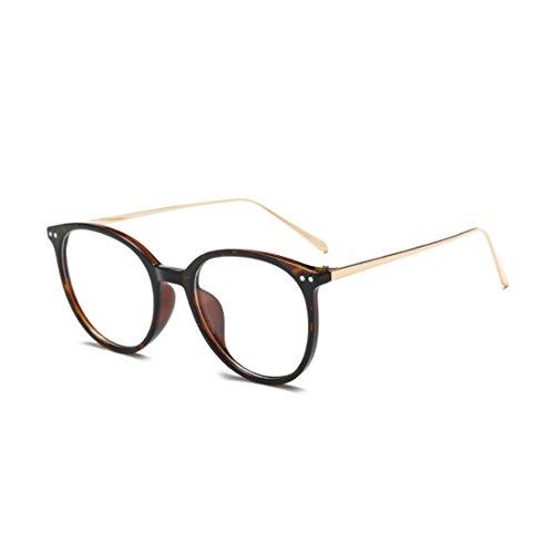 Motif métal en Léopard cadre hommes verres en résine femmes myopes Retro lunettes MUCHAO lentilles mode plein cadre nPwBaxOq0