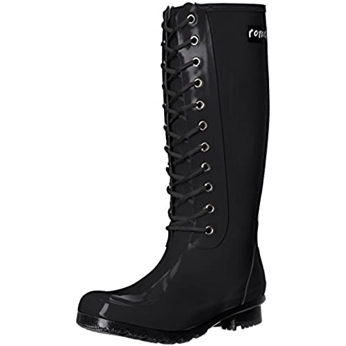 Roma Boots Women's Opinca Lace-Up Rain Boots