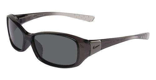 Fade Frame Polarized Grey Lens (Nike Siren P Sunglasses (Black Fade Frame, Grey Max)