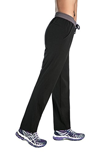 Unitop Women's Quick Dry Cargo Crop Hiking Pants With Drawstring