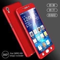 timeless design 4c8cc a38ab ERIT Full Body Protection 360 Degree ipaky Hard Case Hybrid Front Back  Cover and Tempered Glass for Oppo A37 A37F (Red) with OTG Adapter